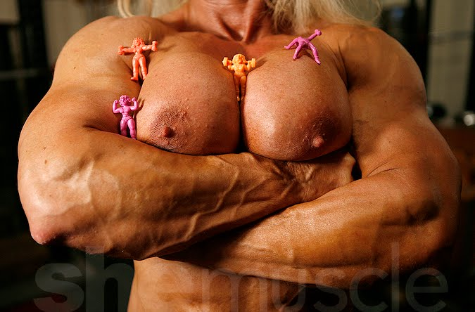 Bodybuilder Lindsay Murray Nude 58