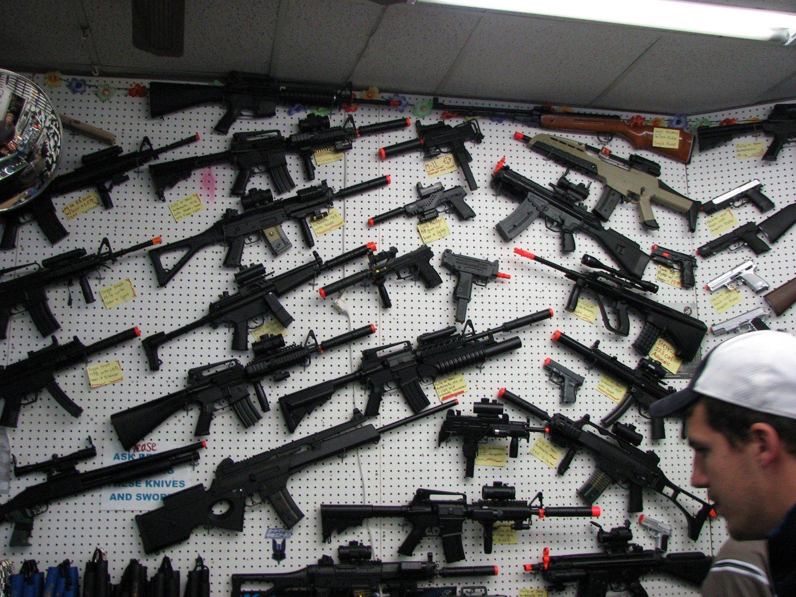 Guns Guns And More Guns Guns And More Guns