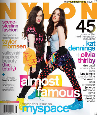 Kat Dennings May Nylon 2009 Cover Young Hollywood PHotoshop Disaster