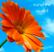 My Sunshine Award!