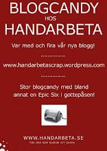 Blogcandy hos Handarbeta