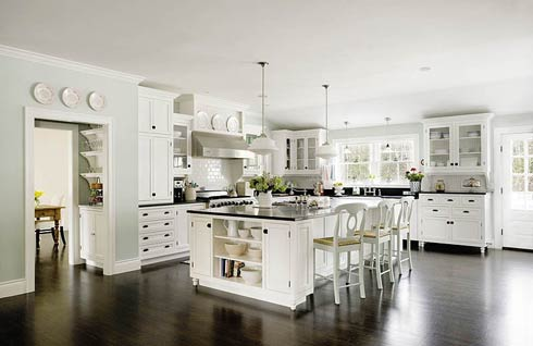 White Cooking Furniture