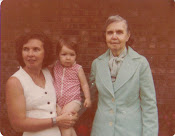 my mother, grandmother, and me!