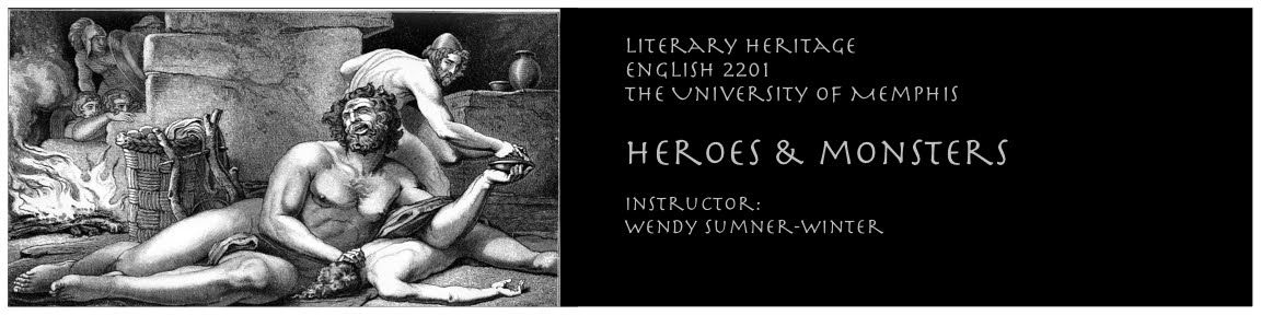Heroes & Monsters - Literary Heritage