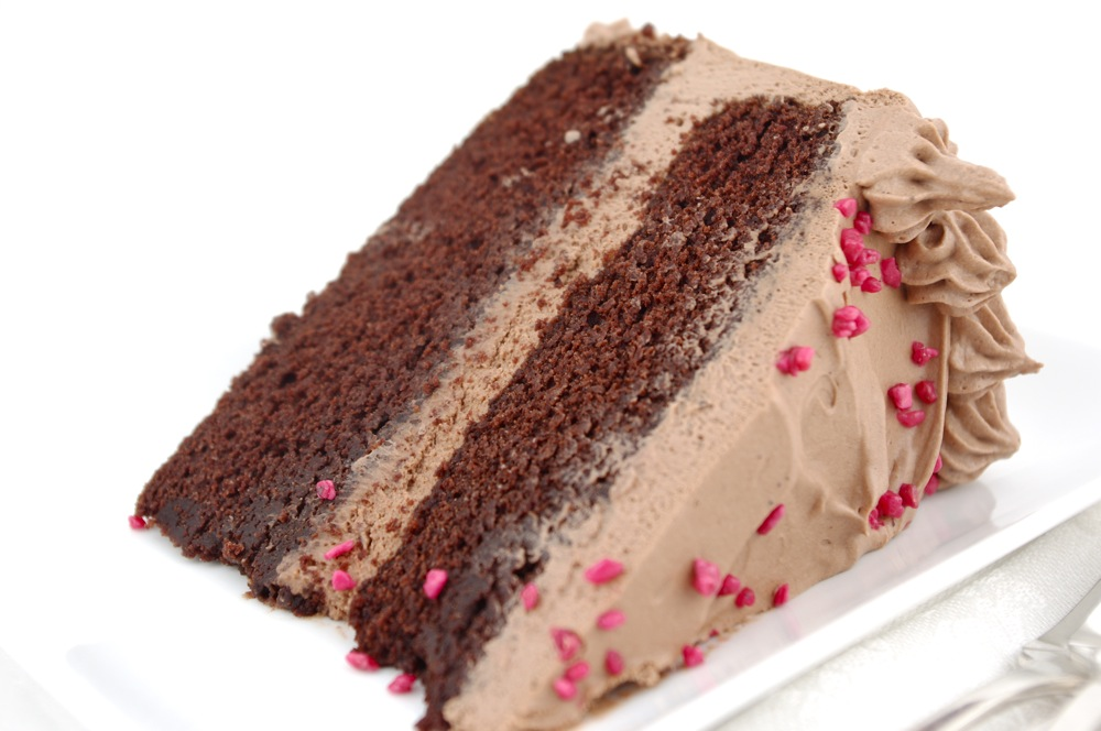 cake with chocolate frosting chocolate layer cake with milk chocolate ...