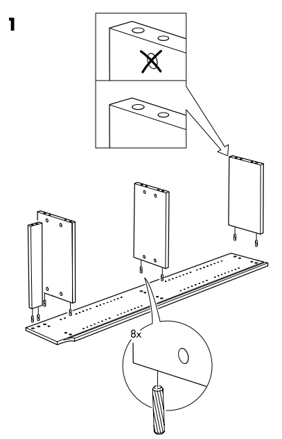 ikea billy bookcase assembly instructions