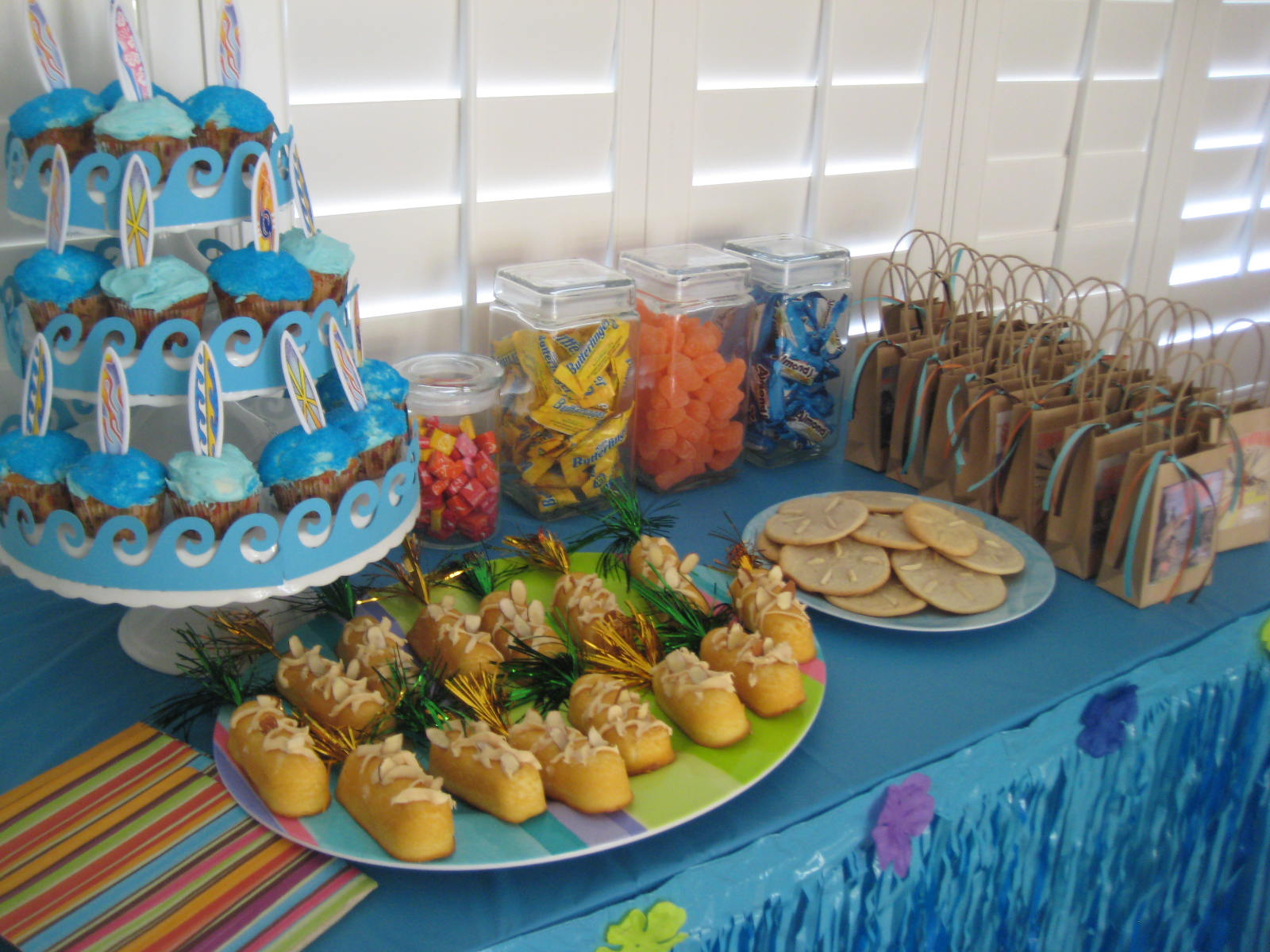 Creative Party Ideas By Cheryl Surf Hawaiian Decor