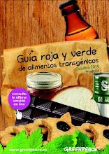 Guía Roja y Verde de alimentos transgénicos - GREENPEACE