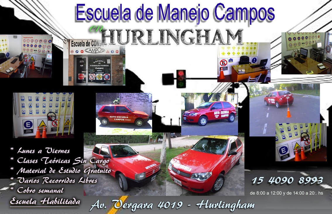 Escuela de manejo Hurlingham