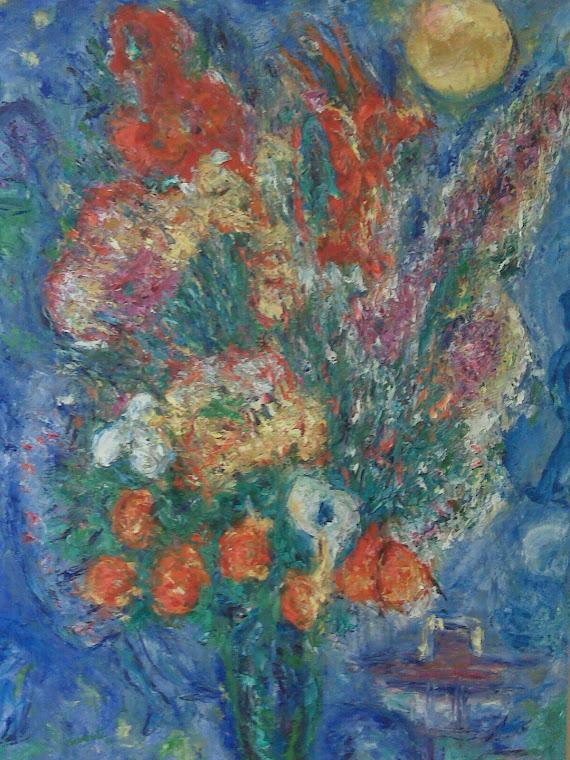 Christmas Chagall