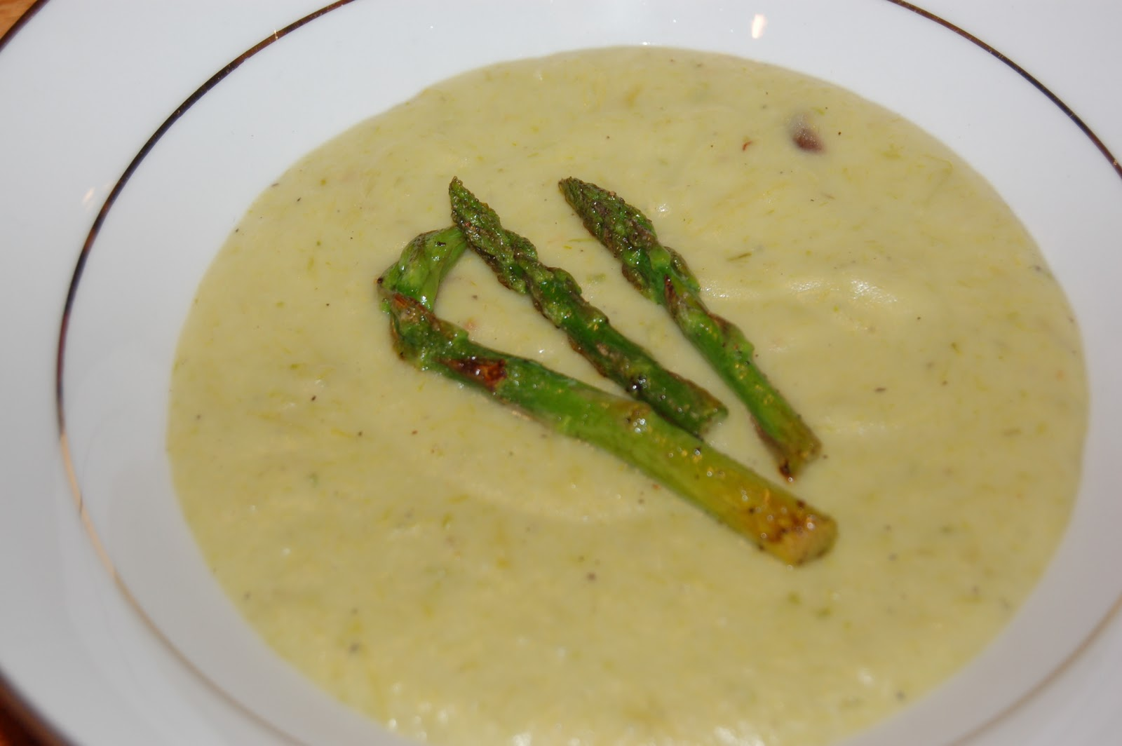 The Sparitarian: Creamy Potato and Asparagus Soup