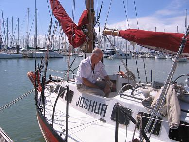 La barca di Bernard Moitessier... per me l'emozione era fortissima... Manfred Marktel