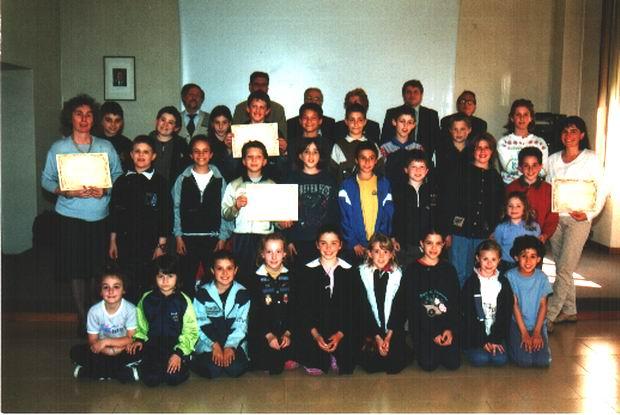 """La Scuola di Canzo """"TURATI"""" che ha vinto l'OSCAR di Poesia nel 1996..."""