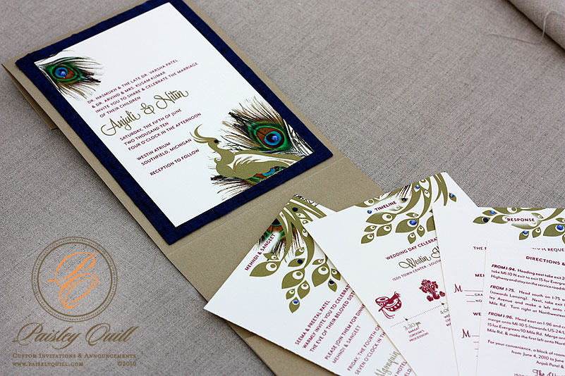 Anjali 39s wedding invitations have been the most detailed suite I have done
