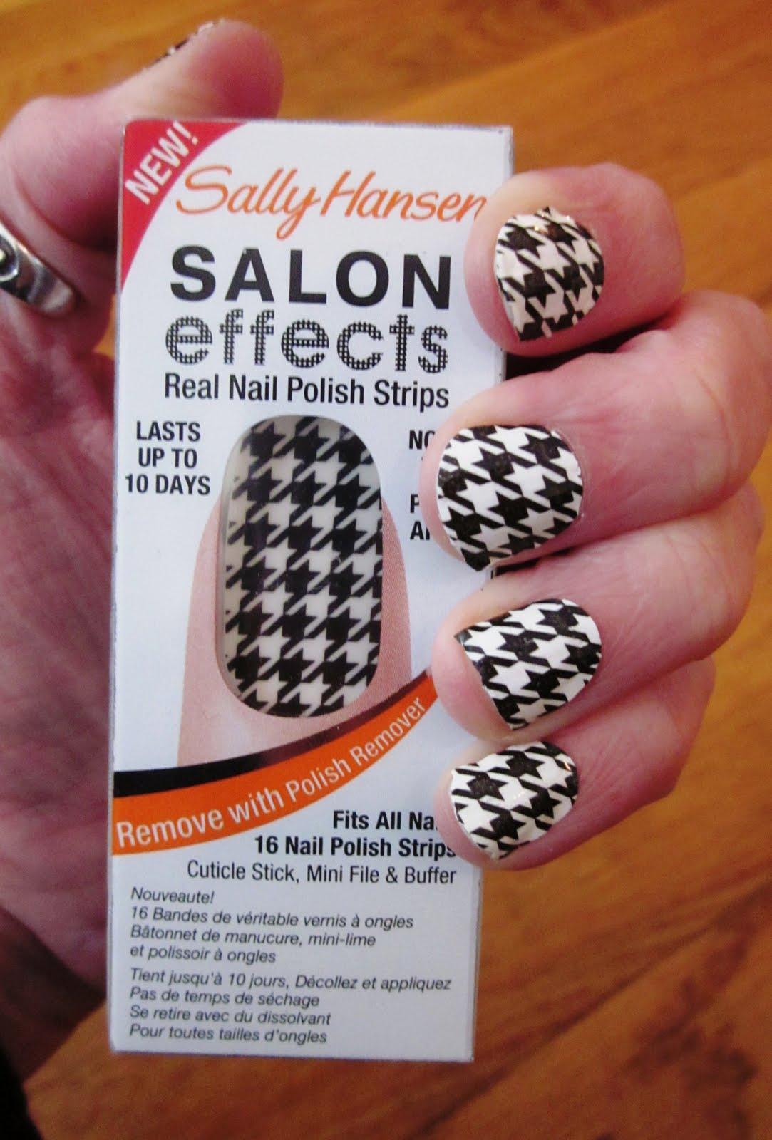 Indulge Inspire Imbibe: Sally Hansen Salon Effects Nail Polish Strips
