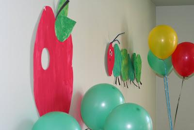 Caterpillar Cake Decorations