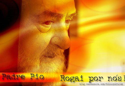Padre Pio - o Padroeiro dos Grupos de Oração.