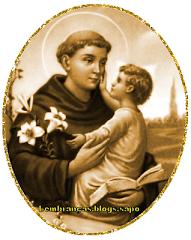 Oração a Santo Antônio.