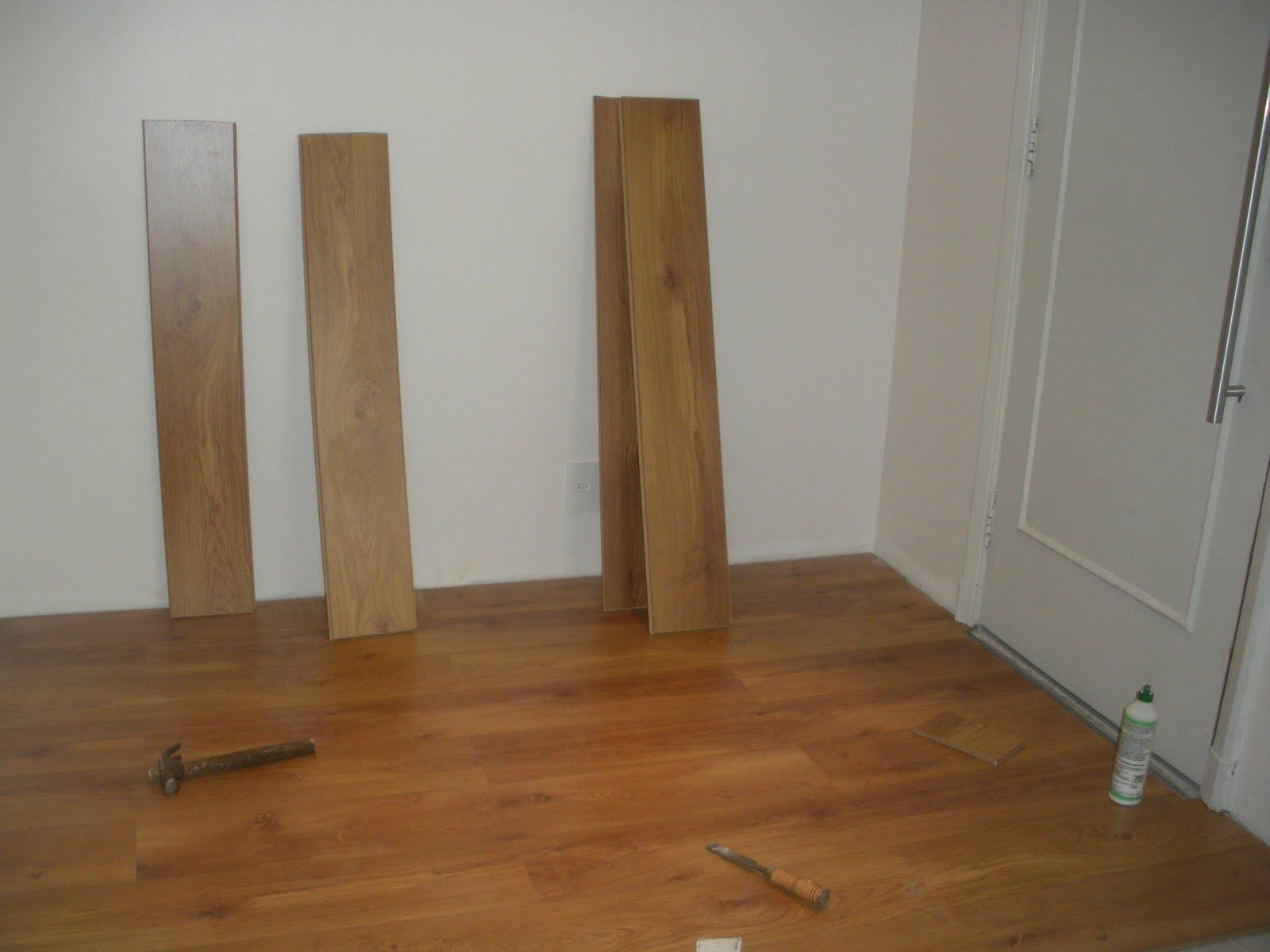Gleide casa nova colocacao do piso laminado carvalho malta da durafloor - Compartir piso en malta ...