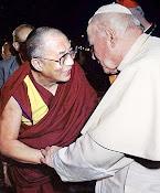 Dalai Lama e João Paulo ll.