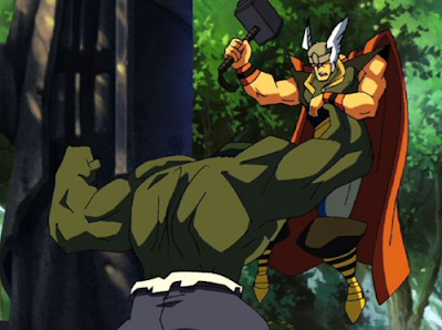 And of course the hulk vs thor animated short notable chiefly for the
