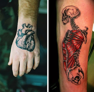 Collection of Strange and Ugly Anatomy Tattoos From Around The World