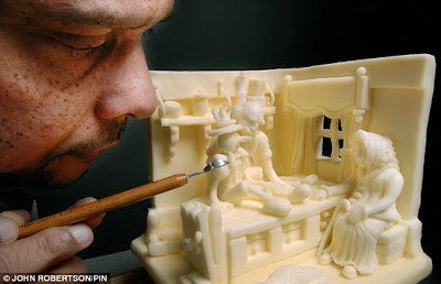 Amazing Butter-Sculptures Art Seen On www.coolpicturegallery.net