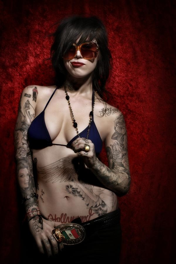 sexy tattooed girls. Tattoos for girls represent