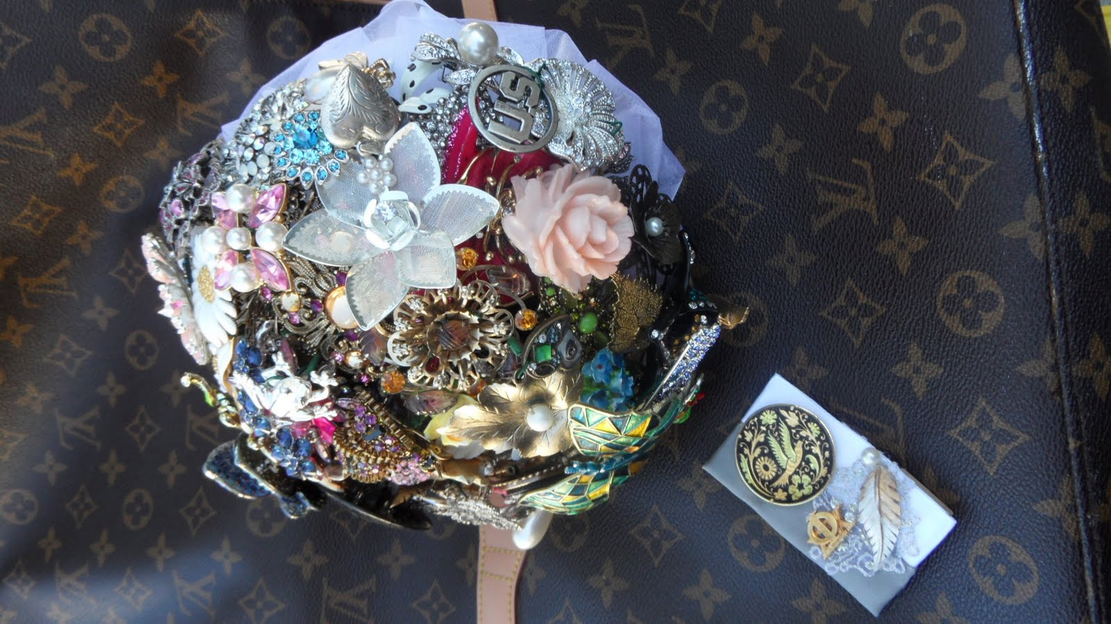 Right Side Up Brooch Bouquets From Amanda Heer Brooch Bouquets