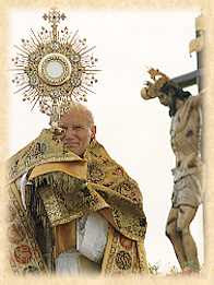 Monstrance and JPII