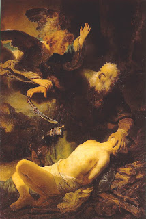 Rembrandt Sacrifice of Isaac