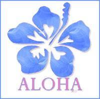 Aloha Blue Tag