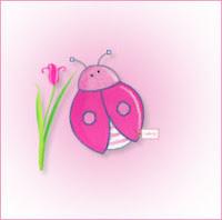 Pink Lady Bug ecg