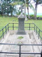 Fr. Damien's Grave Kalawao
