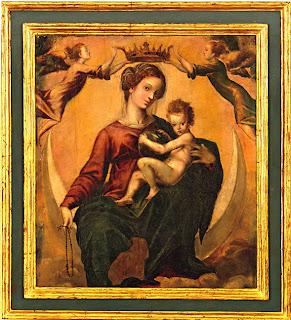 Coronacion de la Virgen del Rosario