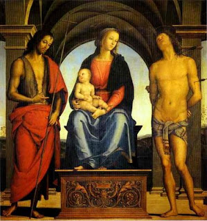 Mary, Jesus and John the Baptist