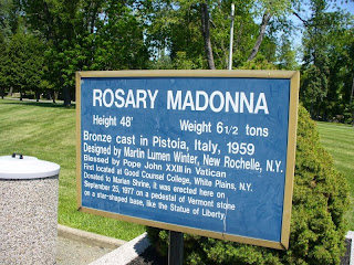 Madonna Rosary Sign