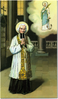 St. John Vianney and St. Philomena