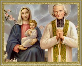 St. John Vianney and the BVM