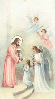 Holy Communion on the Tongue