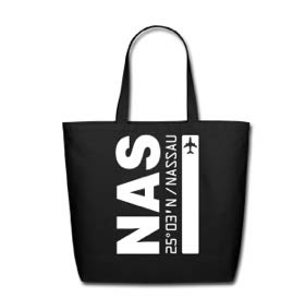 Wedding Welcome Bags: We're making Nassau Bahamas Air Wear tote/beach bags