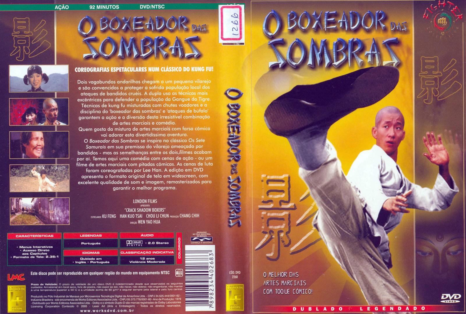 O  Boxeador  Das  Sombras   (Dublado) Artes Marciais