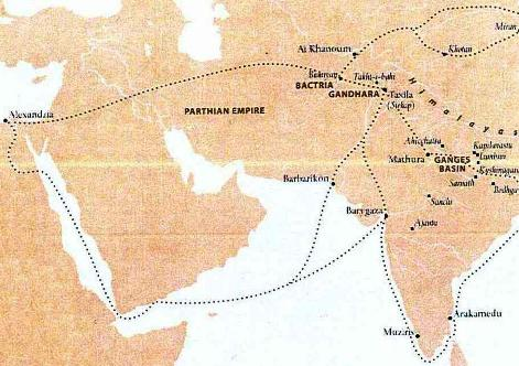 Indian+ocean+trade+routes+ancient