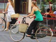 Najbardziej szykowna łódzka rowerzystka w sierpniu