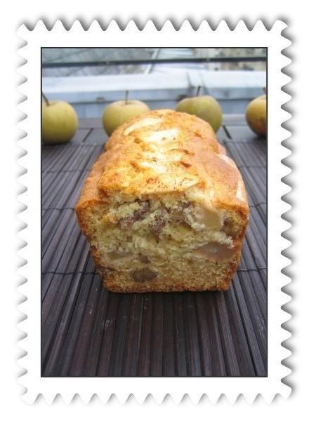 Cake Pomme Canelle Noix