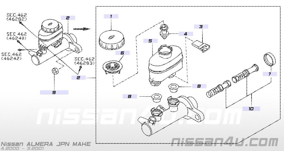 the n16 files brake master cylinder breakthrough rh then16files com How Master Cylinder Work Animation Master Cylinder Brake Line Diagram