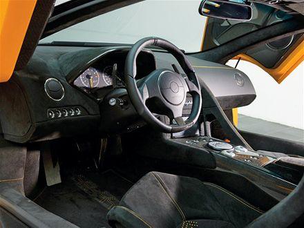 Green Lamborghini Murci�lago