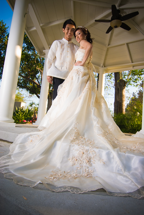 wedding destinations filipino wedding dress