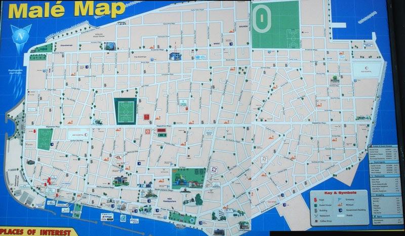 Maldives Ibus Adventure Maldives Capital City Male Earlier - male map