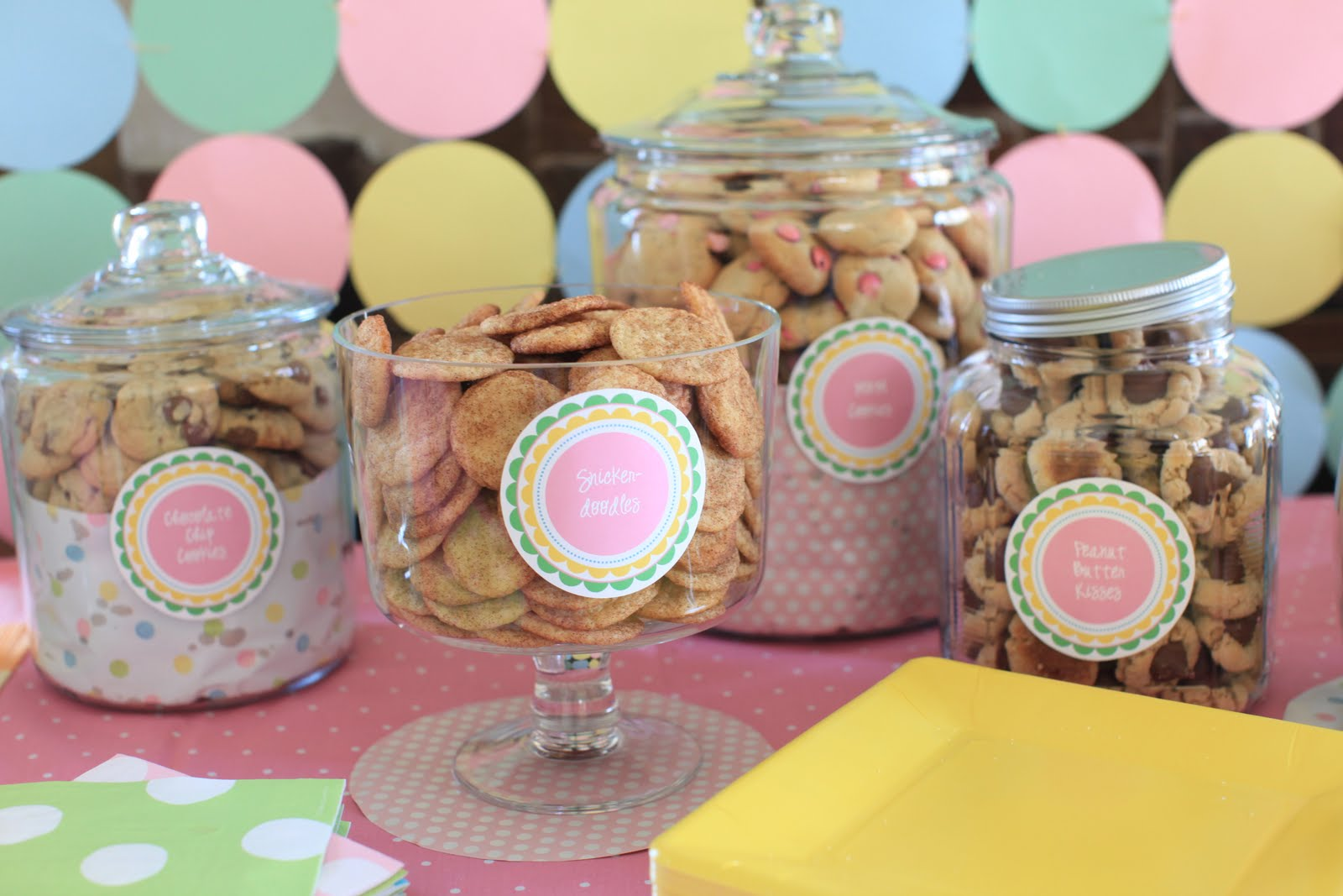 Pass The Cereal Milk Cookies Birthday Party
